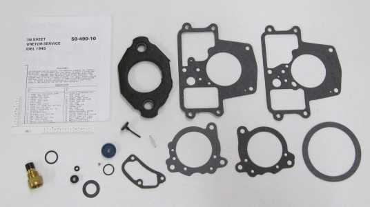 holley 1945 1 barrel carburetor kit