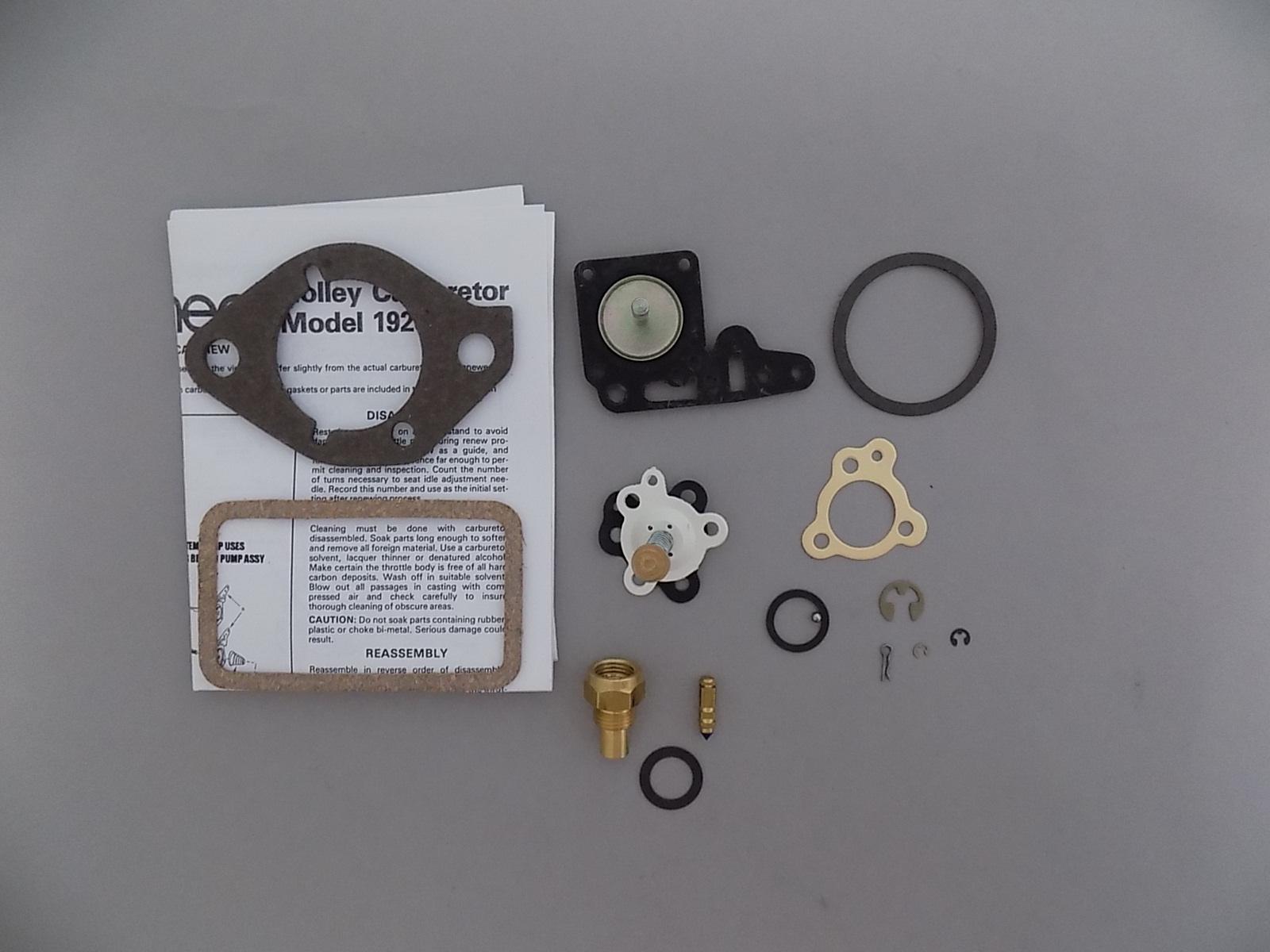 holley 1920 carburetor rebuild kit 1964 65 jeep. Black Bedroom Furniture Sets. Home Design Ideas