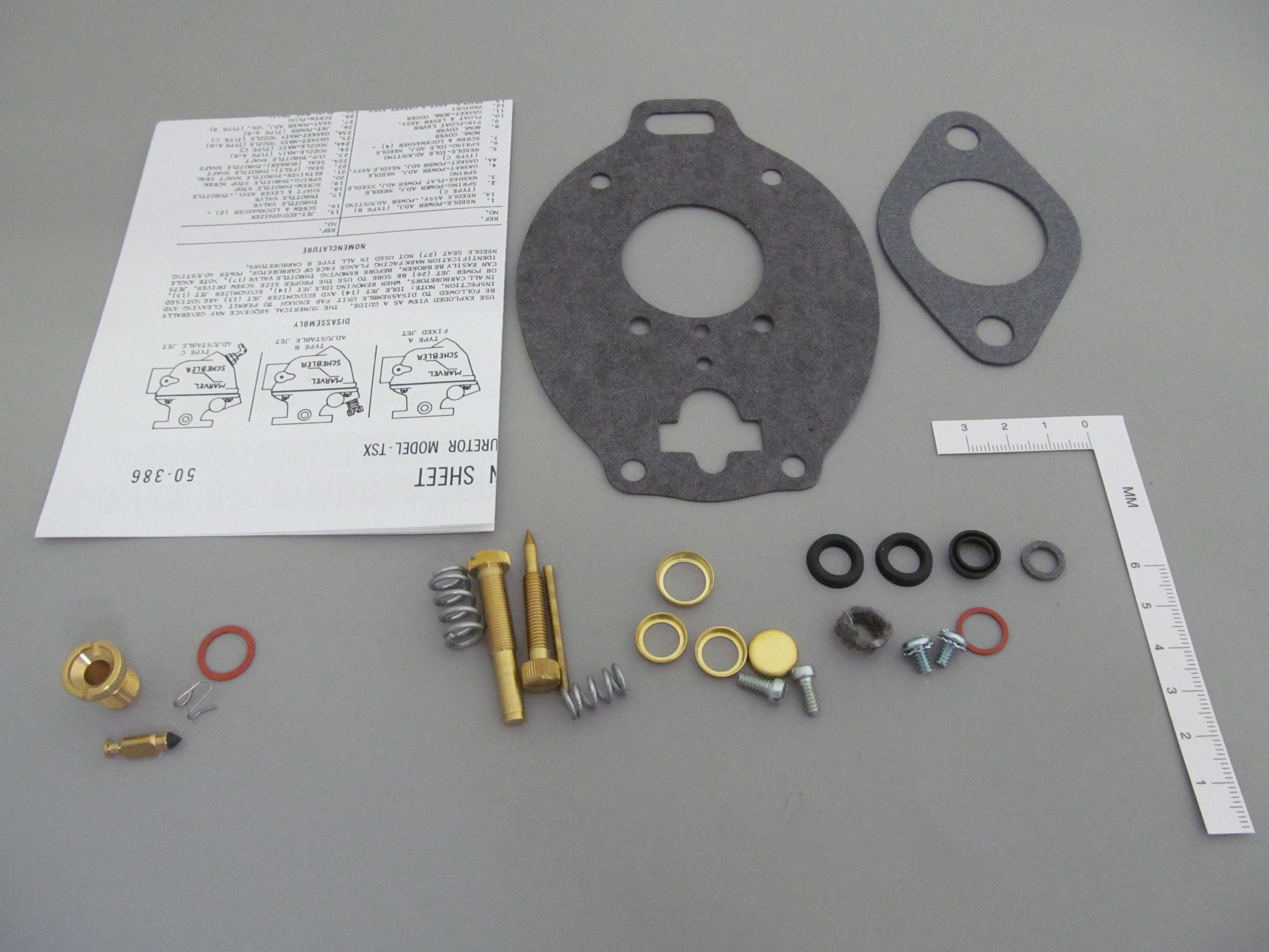 Marvel Schebler Carburetor Kit - TSX Series K5006