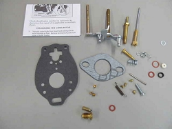 Ford Tractor Carburetor Kit Marvel Schebler