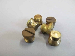 Carter B&B Jet Passage Plug - Brass