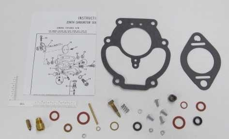 Zenith Ag Industrial Carburetor Kit - Allis Chalmers, John Deere ...