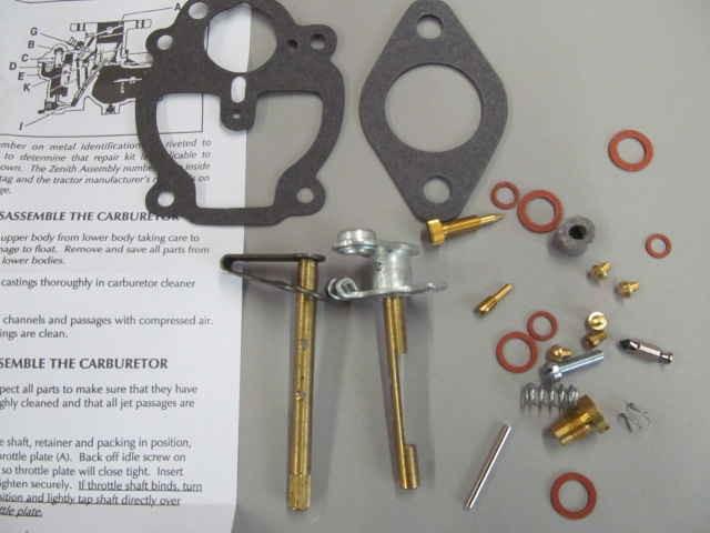 Tk on Zenith Carburetor Part Numbers