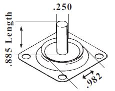 Motorcraft 2150 accelerator pump diaphragm