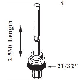 Accelerator Pump Quadrajet