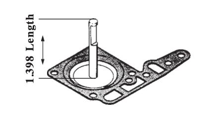 Accelerator Pump Diaphragm