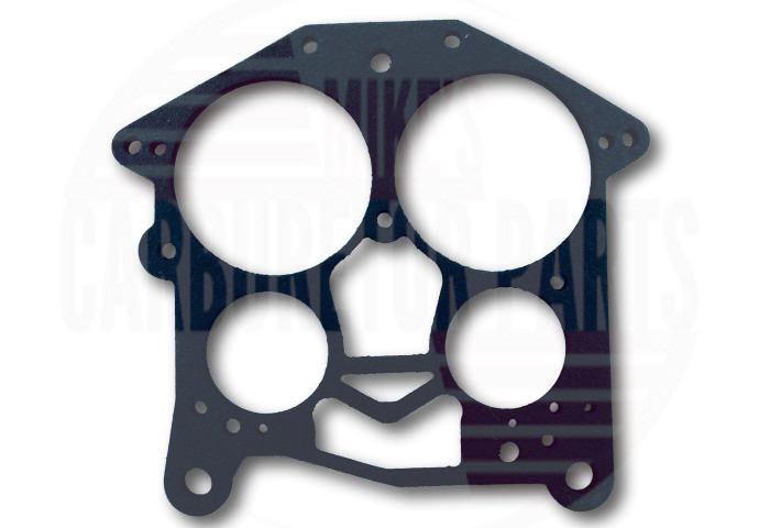 "NEW ROCHESTER QUADRAJET THROTTLE BODY GASKET 1//8/"" THICK G1299"