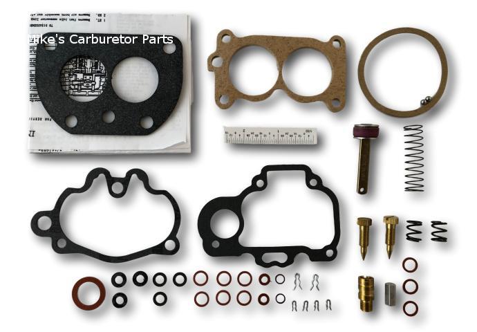 Carter WD-0 Carburetor Rebuild Kit - Nash