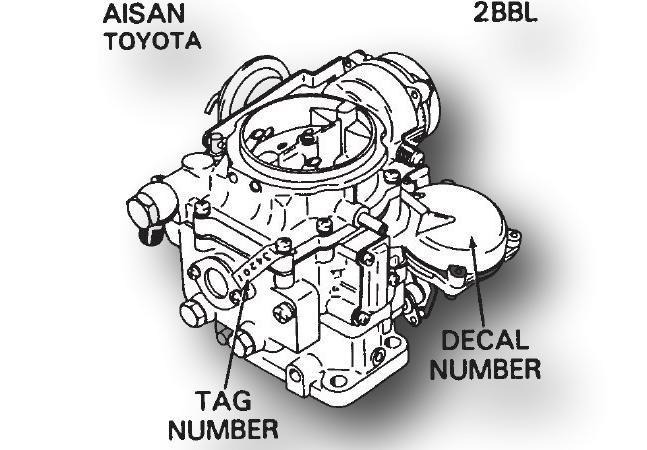 Aisan Carburetor Kit