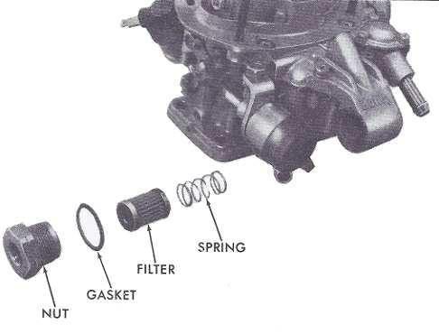 Holley 5200 & 5210 2 barrel carburetor rebuild figure 2