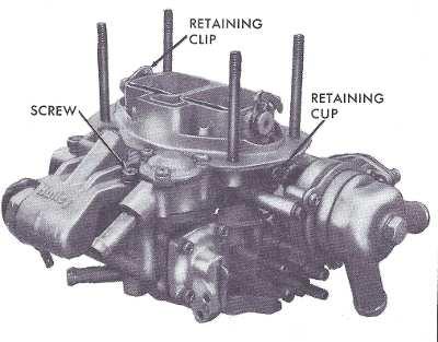 Holley 5200 & 5210 2 barrel carburetor rebuild figure 3