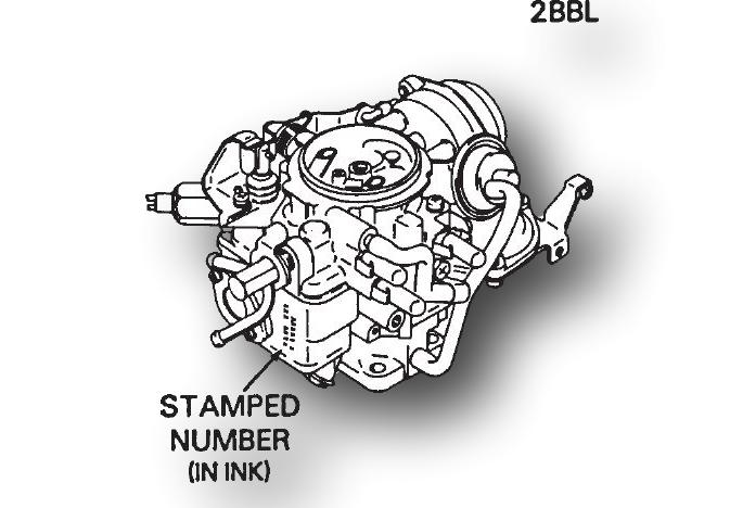 Hitachi Carburetor Identification