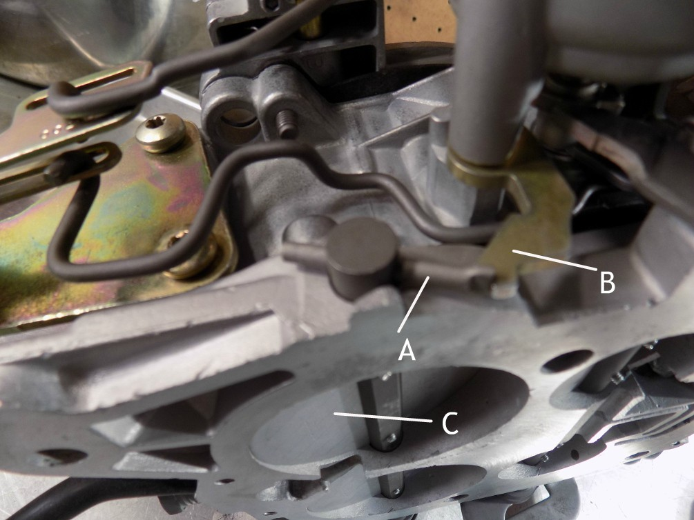 how to adjust rochester quadrajet