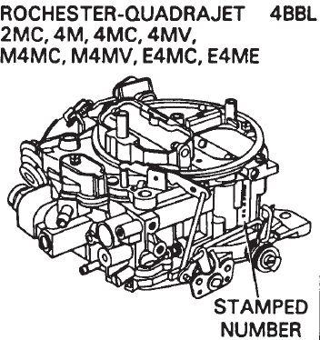 quadrajet carburetor parts rh carburetor parts com Quadrajet Vacuum Ports Rochester Carburetor Vacuum Diagram