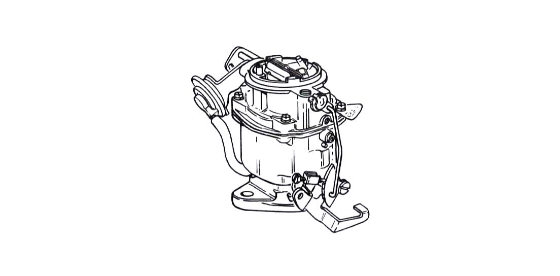 Rochester BV Carburetor