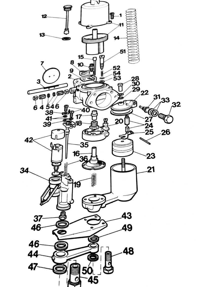 Su Carburetor Parts