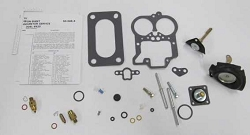 Holley 6520C 2 Barrel Carburetor Kit K4390