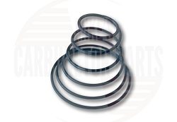Motorcraft 2100 2 barrel carburetor pull-down spring.