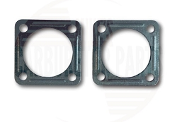 Autolite 1100 Diaphragm Cover Repair Plate PAIR 85-128B