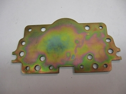 Holley Metering Block Back Up Plate