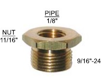 Brass Repair Fitting 90-116