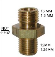 Import Brass Fitting 12MM 13MM - 90-121