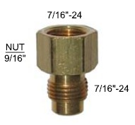Brass Choke Fitting - 90-138