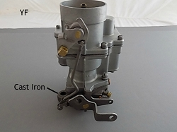 Carter YF/YFA Carburetor Manual - chk email
