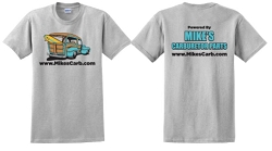 Powered by Mikes T-Shirt