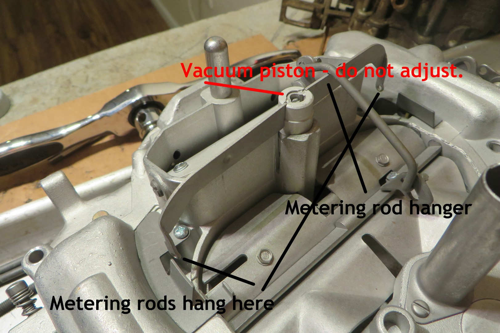 Thermoquad Metering Rod