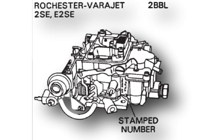 Rochester Varajet Carburetor Kit