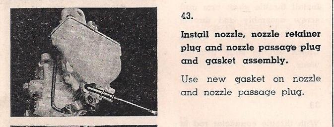 WA-1 Main Nozzle