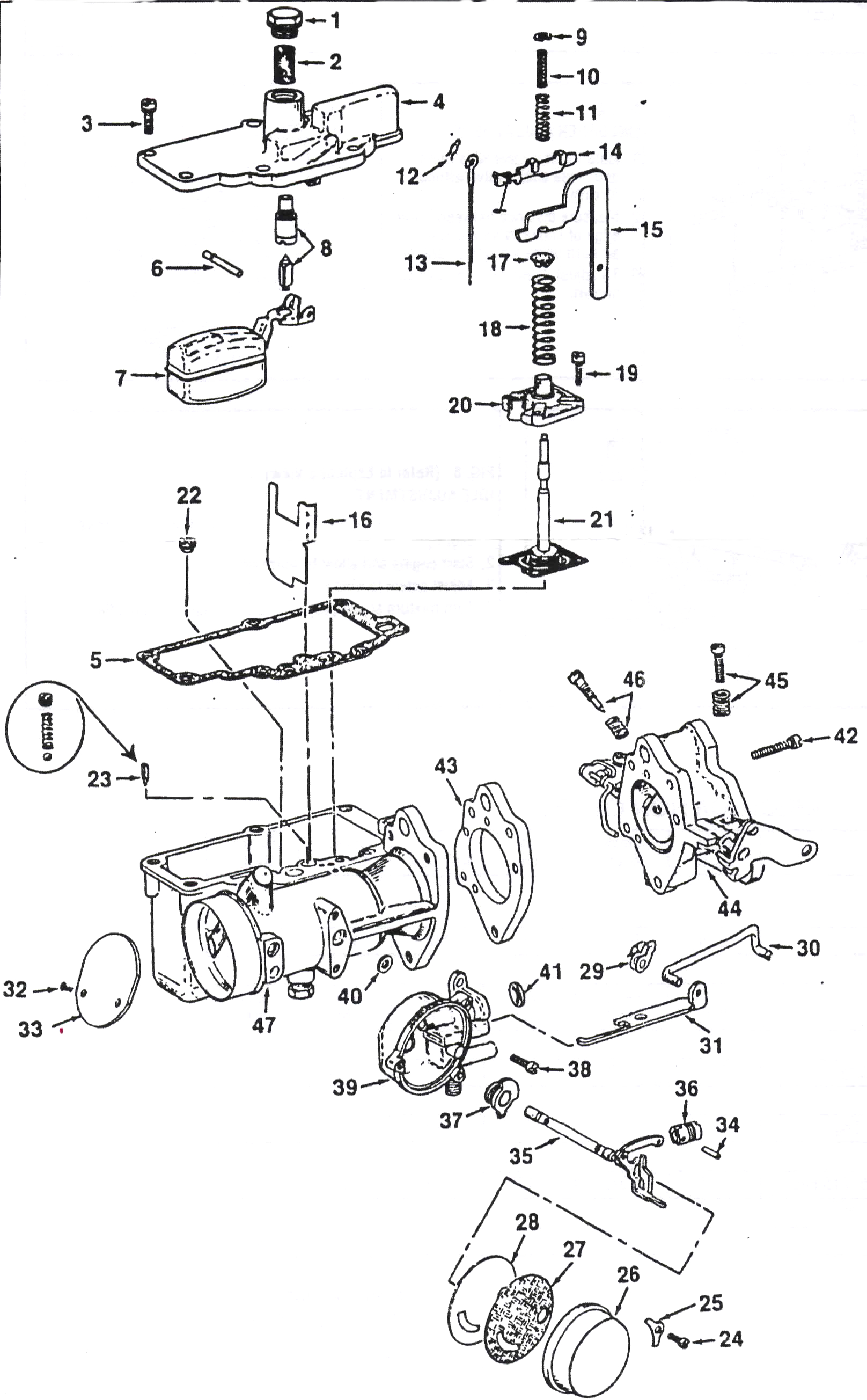 Carter YH Exploded View