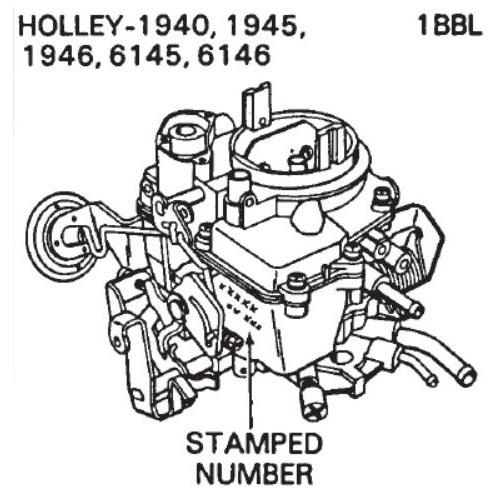 Holley 1945 Diagram - Wiring Diagrams Schema