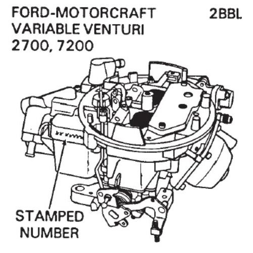 carburetor identification carter holley autolite motorcraft rochester zenith