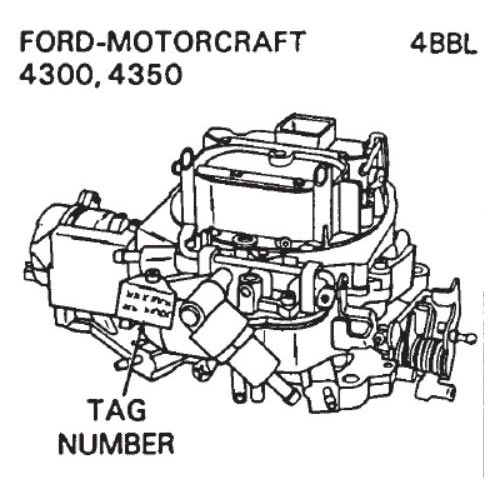 carburetor identification