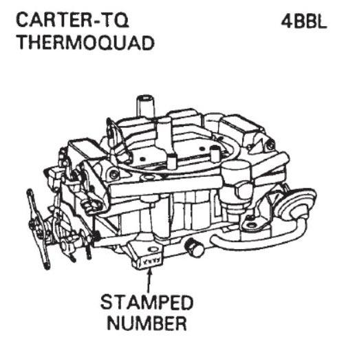 Carburetor Identification - Carter, Holley, Autolite, Motorcraft