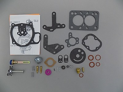 Holley 1901 Carburetor Kit - 1952-53 Ford 1952 Lincoln 1952-53 Mercury K4076