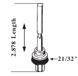 Rochester 2SE, E2SE 2-barrel Carburetor Accelerator Pump AP374